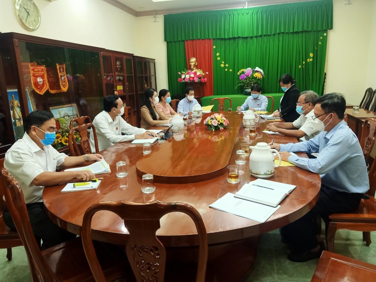 Cục Thống kê làm việc với Đoàn đại biểu Quốc hội tỉnh Tiền Giang về Dự án Luật sửa đổi, bổ sung một số điều của Luật Thống kê