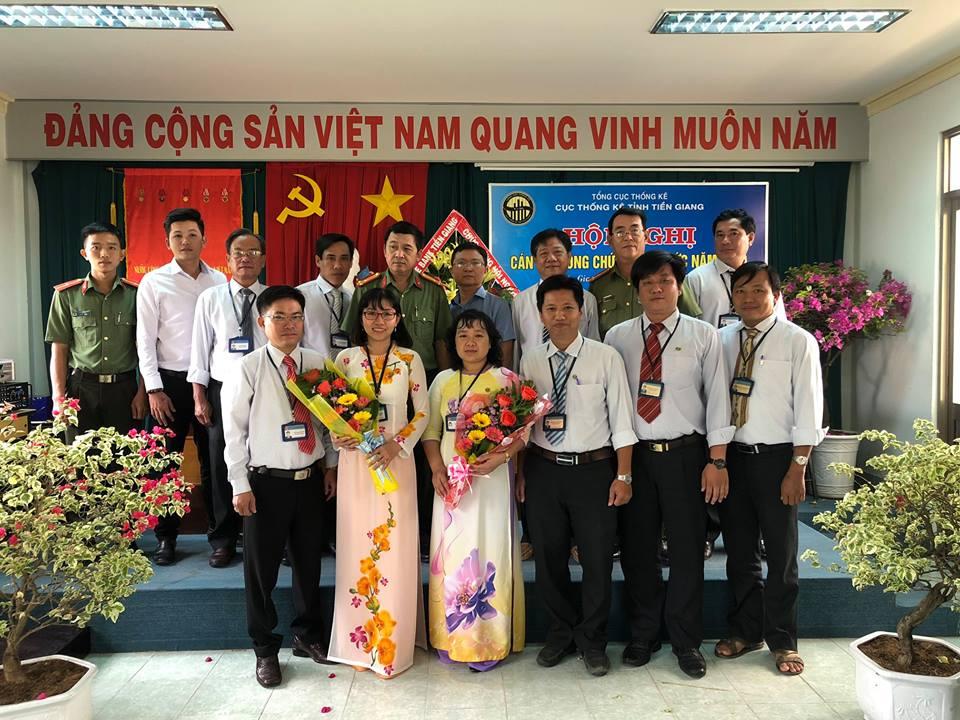 Hội nghị cán bộ, công chức, viên chức Cục Thống kê tỉnh Tiền Giang năm 2019
