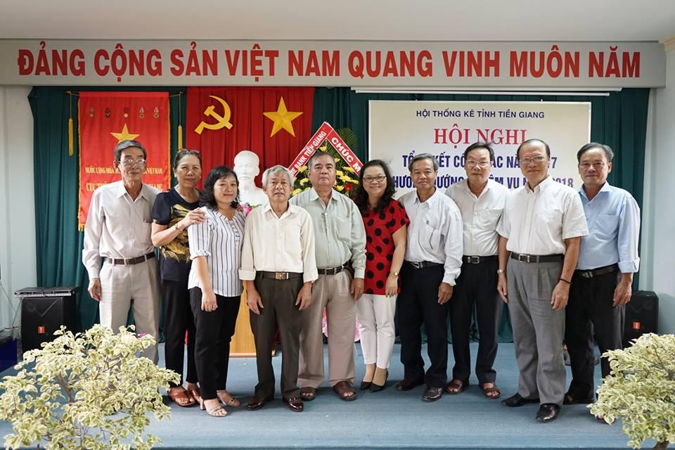 Hội Thống kê tỉnh Tiền Giang tổng kết công tác năm 2017