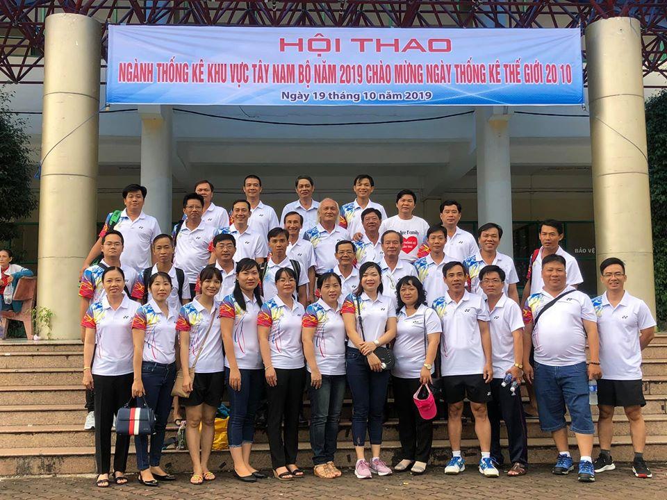 Cục Thống kê tỉnh Tiền Giang đạt giải Nhì toàn đoàn tại Hội thao khu vực Tây Nam Bộ lần thứ nhất tại thành phố Cần Thơ