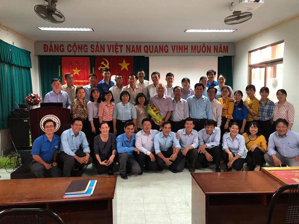 Họp mặt chúc mừng đồng chí Nguyễn Thanh Liêm về nghỉ hưu theo chế độ từ ngày 01/12/2019