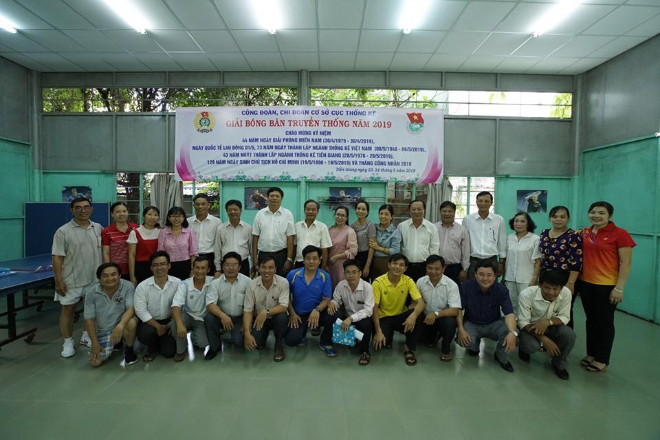 Giải Bóng bàn truyền thống ngành Thống kê Tiền Giang năm 2019