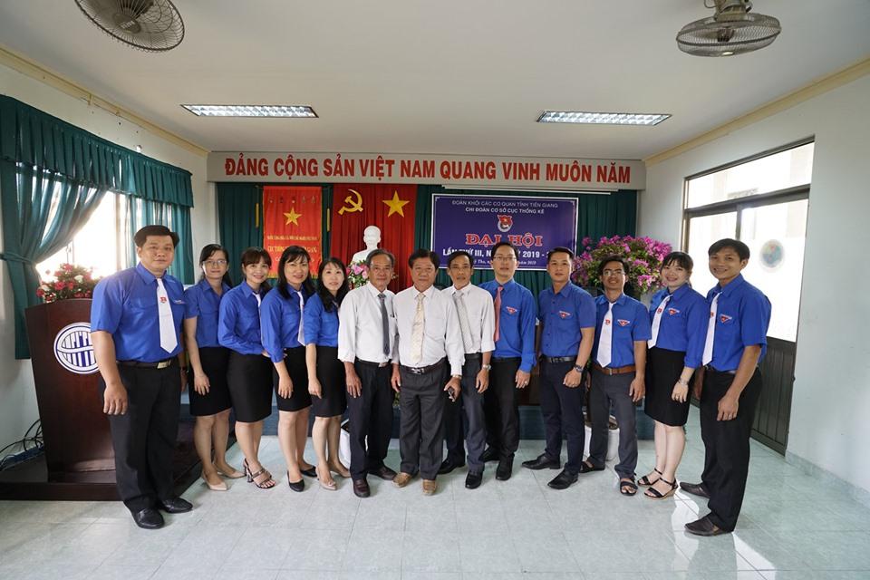 Đại hội Chi đoàn cơ sở Cục Thống kê tỉnh Tiền Giang lần thứ III, nhiệm kỳ 2019 - 2022