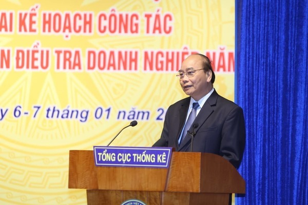 Bài phát biểu của Thủ tướng Chính phủ Nguyễn Xuân Phúc tại Hội nghị triển khai Kế hoạch công tác của TCTK năm 2020