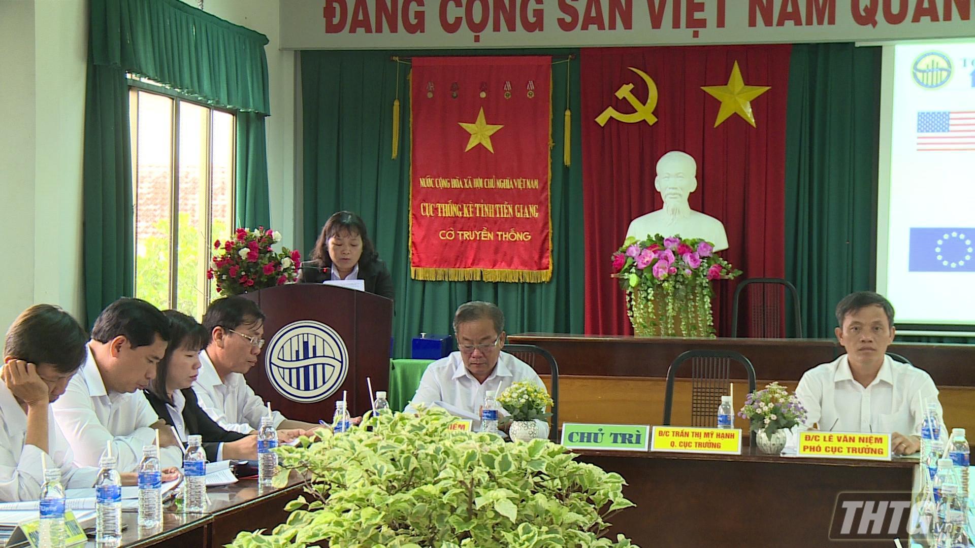Họp báo công bố số liệu thống kê kinh tế, xã hội tỉnh Tiền Giang 6 tháng đầu năm 2020