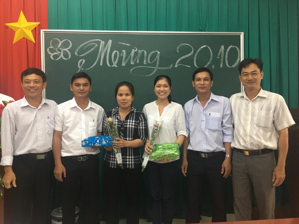 CĐCS Chi cục Thống kê huyện Cái Bè họp mặt Kỷ niệm 87 năm ngày thành lập Hội Liên hiệp phụ nữ Việt Nam 20-10