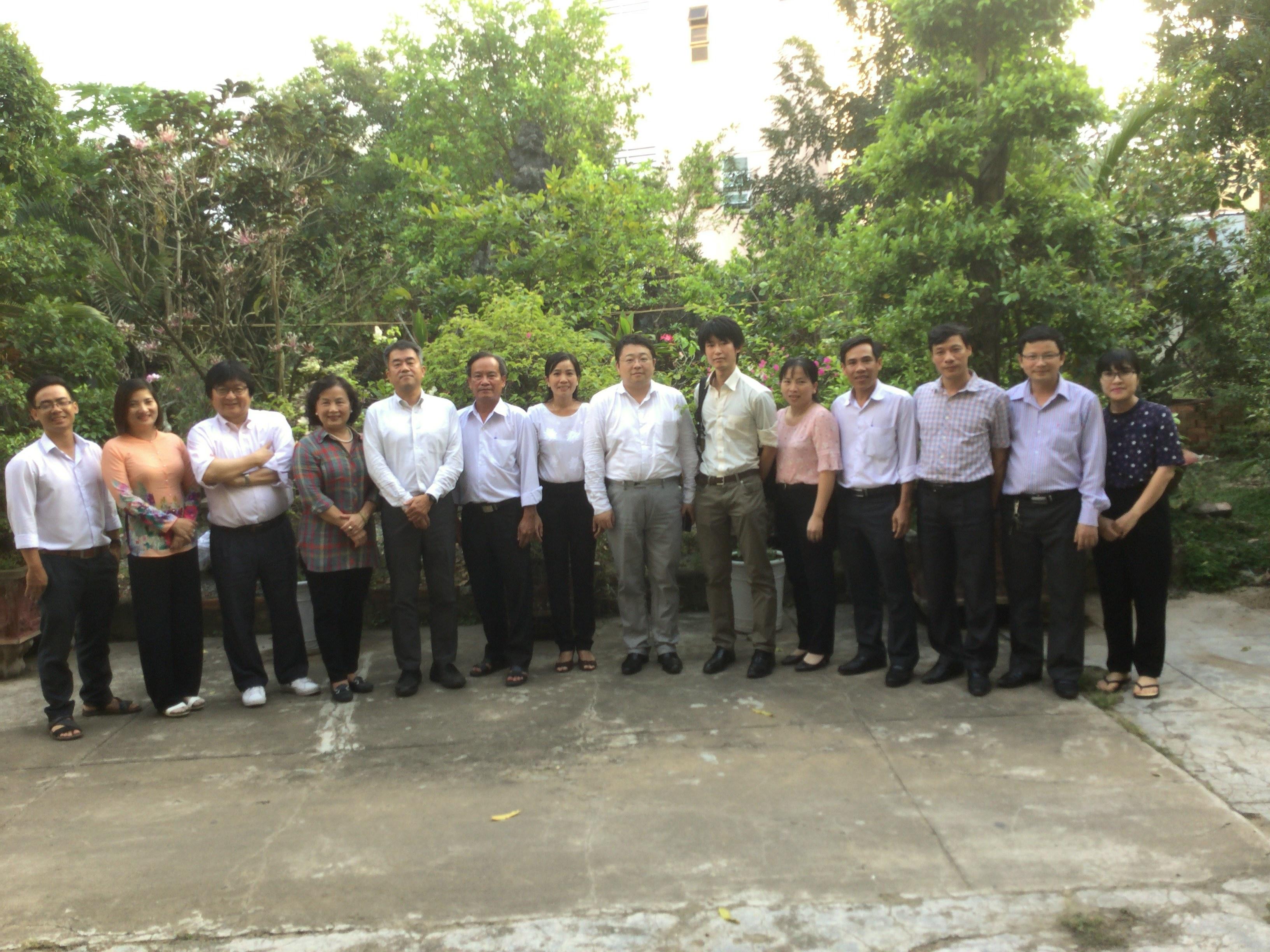 Đoàn Thống kê Nhật Bản thăm và làm việc với Cục Thống kê tỉnh Tiền Giang