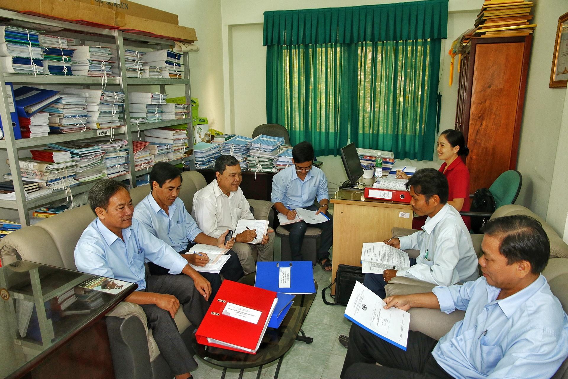 Cục Thống kê tỉnh Tiền Giang tổ chức đánh giá nội bộ công tác ISO 9001: 2008 năm 2017